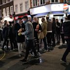 Pressure mounts on government to review 'shambolic' 10pm curfew after drinkers crowd streets at closing time