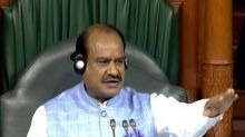 India will move forward on development path with able leadership, people's determination: Om Birla
