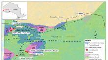 Riverside Stakes the High Lake Greenstone Belt West of Kenora, Ontario, Canada