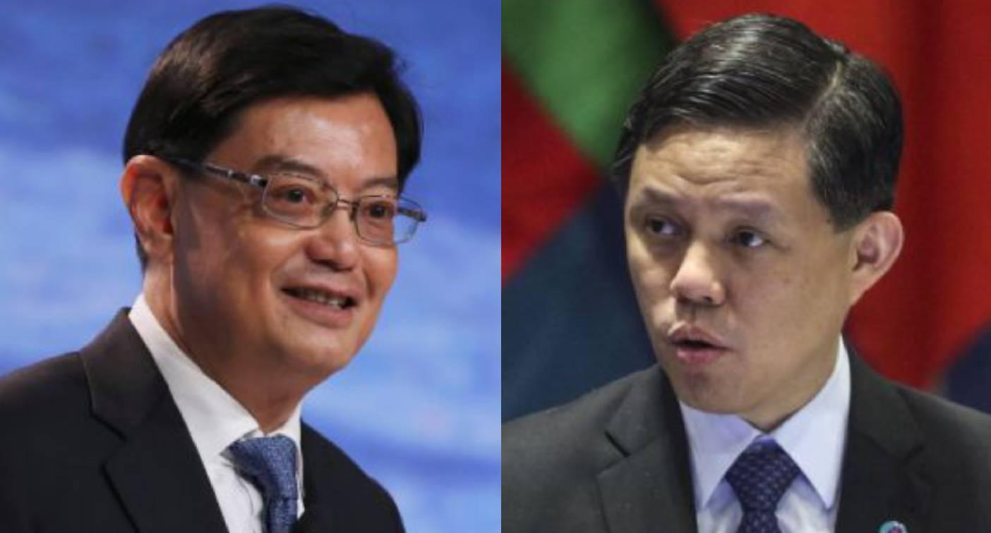 Three times as many Singaporeans prefer Heng Swee Keat over Chan Chun Sing as next PM: survey