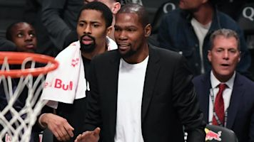 Durant on potential return: 'My season is over'