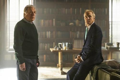 Michael McKean as Chuck McGill, Patrick Fabian as Howard Hamlin on AMC's Better Call Saul. (Photo: Michele K. Short/AMC)