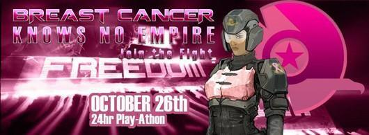 PlanetSide 2 players hosting 24-hour play-a-thon to raise money for breast cancer research