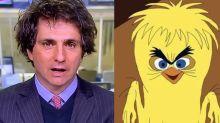 Correspondente da Globo vira meme por aparecer descabelado na TV