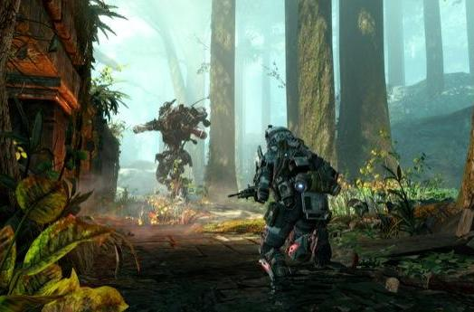Titanfall pilots make a swamp landing in 'Expedition' screens