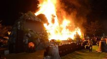 Giant King Kong Model Goes Up in Flames at Vietnam 'Skull Island' Premiere