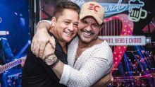 """Leonardo explica fim de parceria com Eduardo Costa e afirma: """"Nunca discutimos"""""""