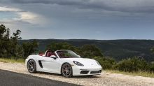 Porsche's Boxster is a 718 now, with more power and upgrades