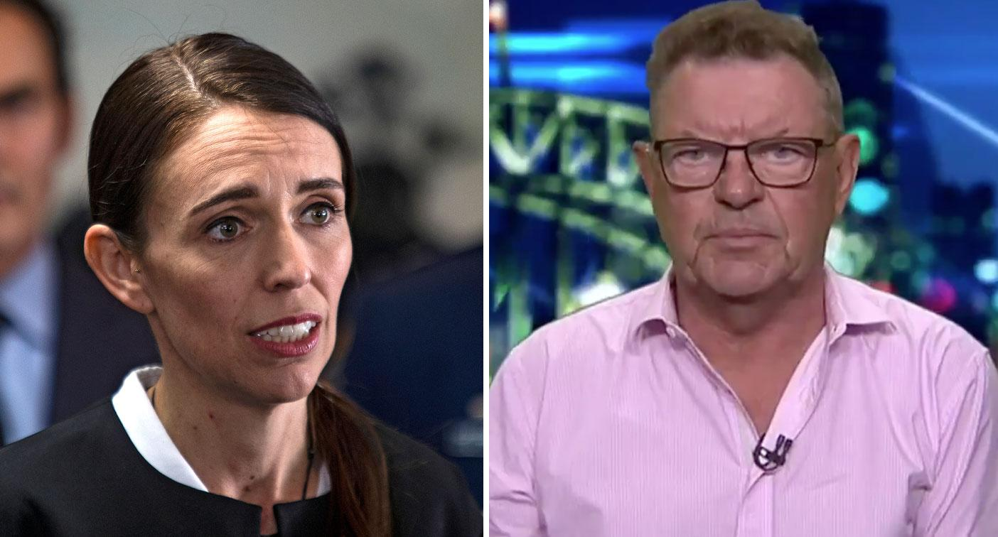 Steve Price's shocking response to backlash over Jacinda Arden swipe