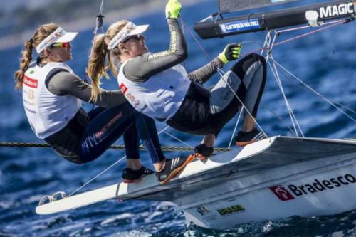 Velejadoras medalhistas olímpicas destacam força da vela femina