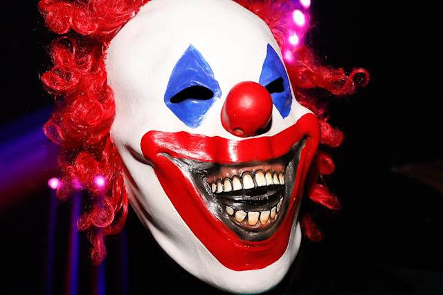 Pennsylvania police say they are looking for a clown who allegedly tried to get a 9-year-old girl to follow him by offering her money. (Getty Images)