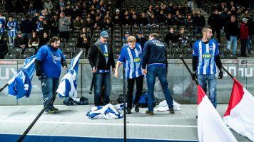 Hertha hebt Fahnenverbot vor Hoffenheim-Spiel auf