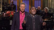 Ryan Reynolds In The Audience Rattles Will Ferrell During 'Saturday Night Live' Monologue