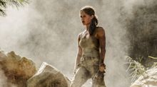 Alicia Vikander tools up in first Tomb Raider trailer