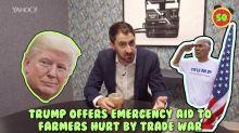 Business + Coffee: Trump giving farmers $12B, AT&T buys AppNexus, bitcoin price rebounding