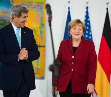 Kerry says it's inappropriate for Trump to step into German politics