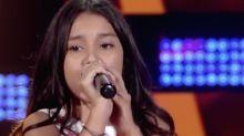 Menina emociona cantando Elis no 'The Voice Kids' e deixa Simone 'no vácuo'