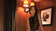La La Anthony Tests Out Khloe Kardashian's Denim Line
