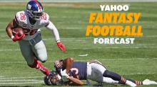 Yahoo Fantasy Football Forecast: Week 3 Pickups - Replacing Saquon Barkley and Christian McCaffrey