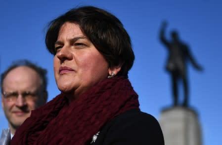 DUP leader: Won't support Brexit deal dividing internal UK market