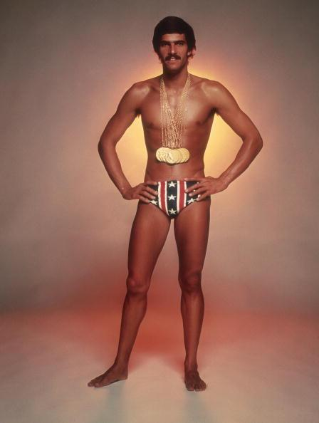 mark spitz rocking his gold medals and a banana hammock   photo  getty images why are americans afraid of the banana hammock   rh   yahoo