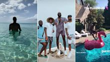NBA Summer Vacation Watch: Ballers on boats, plenty of beaches and one pink flamingo