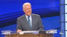 Alex Trebek gets OK Boomer-ed by Ken Jennings during rowdy 'Jeopardy!'