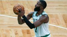 Celtics star Jaylen Brown's stats through 11 games put him in impressive company