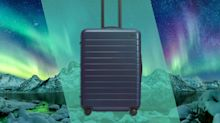 Away Launched a New Suitcase Color Inspired by the Northern Lights