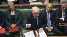 Brexit: Le gouvernement britannique suspend l'examen de l'accord, annonce Boris Johnson