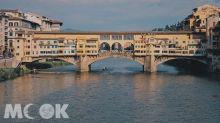 橫亘翡冷翠七百年!阿諾河上的老橋