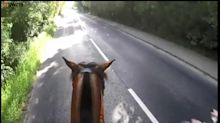 Cyclist heavily fined after undertaking horse during triathlon
