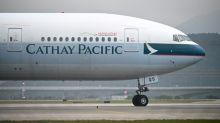 反送中衝擊 國泰航空8月載客量下滑11.3%