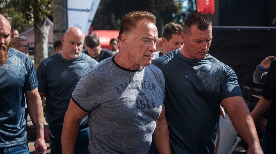 Schwarzenegger attacked at sports event