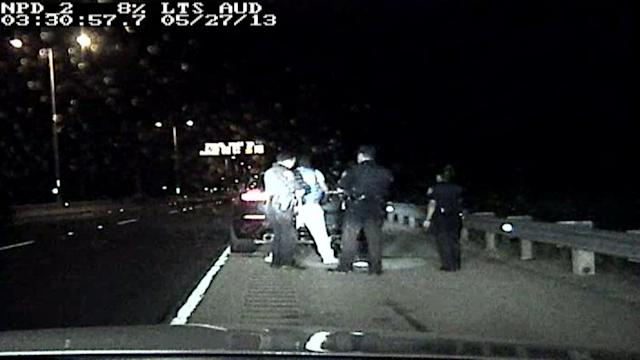 Dashcam video: Chief Keef arrested