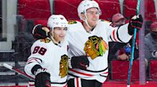 Hanover's Mike Hardman scores first NHL goal for Chicago Blackhawks