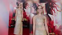 Jena Malone Skips Bra and Underwear on Red Carpet
