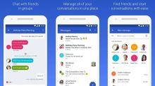 Android Messages ganha modo escuro e mudanças de layout em atualização
