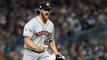 Cole's filthy outing leads Astros to Game 3 win