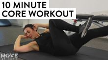 10 Minute Core Home Workout Without Equipment | Move At Home