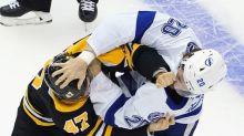 Bruins showed more spark vs. Lightning, and hope to build on it