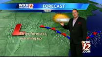 Warm and dry today in the Triad