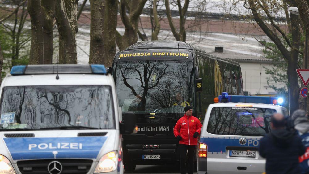 Detido suspeito do ataque ao ônibus do Borussia Dortmund