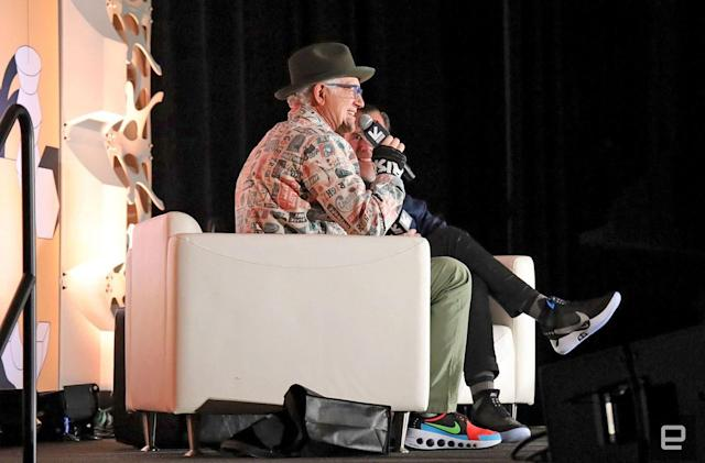 Nike designer Tinker Hatfield makes the case for self-lacing shoes
