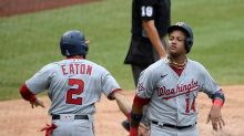 Taylor, Suzuki lift Nats past Jays 6-4 before 4-day break