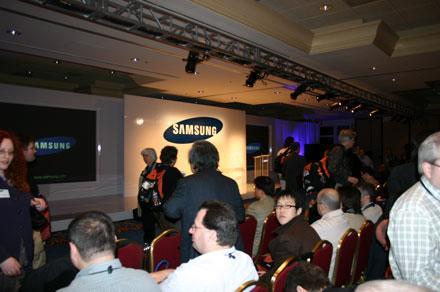 Live coverage from Samsung's CES press conference