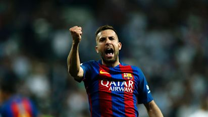 Manchester United keen on Barcelona left-back Jordi Alba