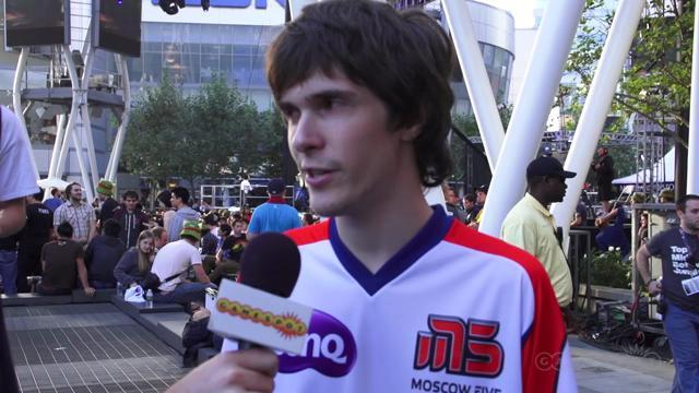 Alex Ich Interview on Day 2 of the League of Legends Playoffs
