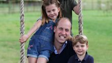 Prince William, George, Charlotte and Louis Pile Up in Candid Father's Day Photos — Taken by Kate!