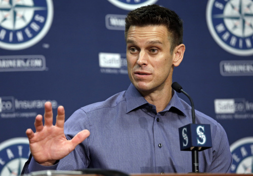 Seattle Mariners general manager Jerry Dipoto probably won't take Thanksgiving off. Neither should you. (AP)